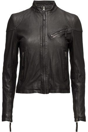 MDK / Munderingskompagniet Kassandra Leather Jacket Skinnjakke Skinnjakke Svart