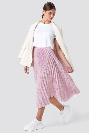 NA-KD Dame Foldeskjørt - Midi Pleated Skirt