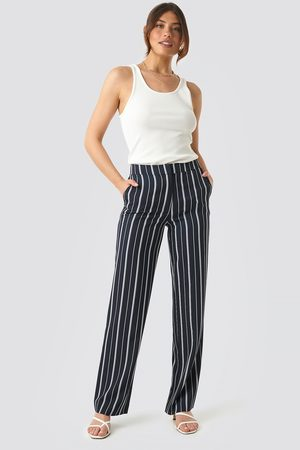 NA-KD Wide Striped Suit Pants