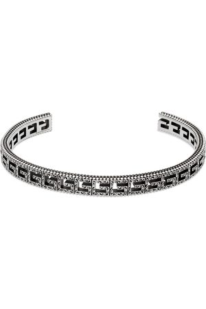 Gucci Silver bracelet with Square G