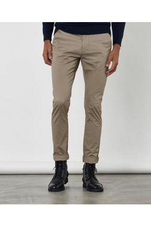 Dr Denim Herre Chinos - Heywood Rambling Red