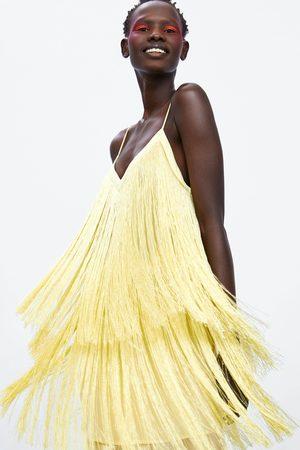 Zara Dame Kjoler - Kjole med frynser