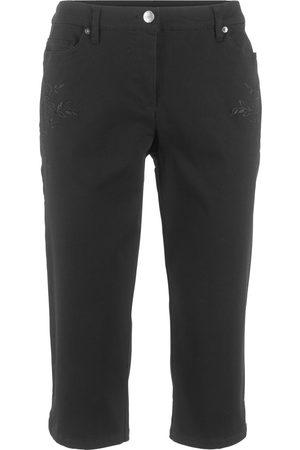 Bonprix Capri-bukse med stretch