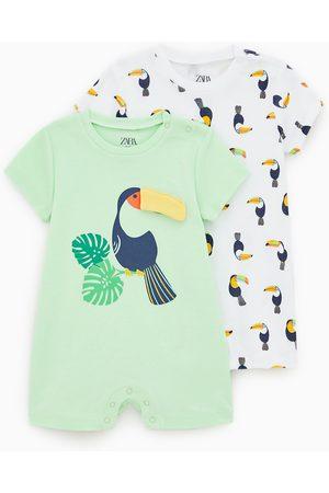 Zara Baby Pyjamaser - 2-pakning pyjamaser tukan