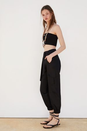 Zara Cargobukse med belte