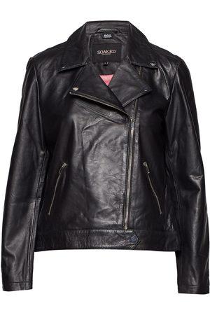 Soaked in Luxury Dame Skinnjakker - Maeve Leather Jacket Ls Skinnjakke Skinnjakke