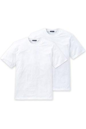 Schiesser Herre Kortermede - 2-pakning Essentials American T-shirts Round Neck * Fri Frakt