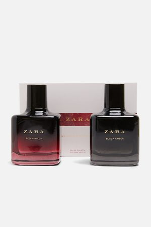 Zara Dame Parfymer - Red vanilla eau de toilette 100 ml + black amber eau de toilette 100 m