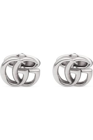 Gucci Silver cufflinks with Double G