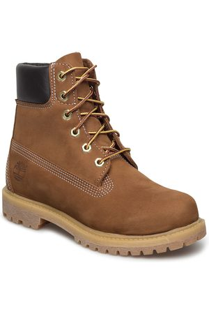 Timberland Dame Skoletter - 6in Premium Boot - W Shoes Boots Ankle Boots Ankle Boots Flat Heel
