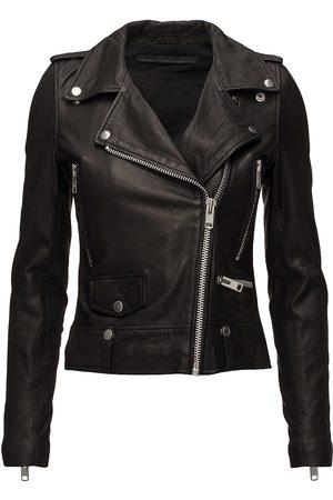 MDK / Munderingskompagniet Seattle Leather Jacket Skinnjakke Skinnjakke Svart