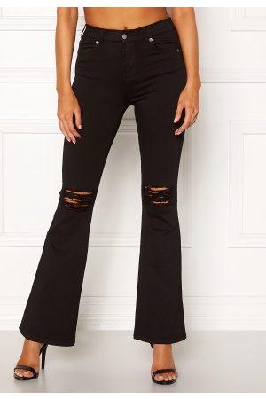 Dr Denim Macy Black Ripped Knees XL/30