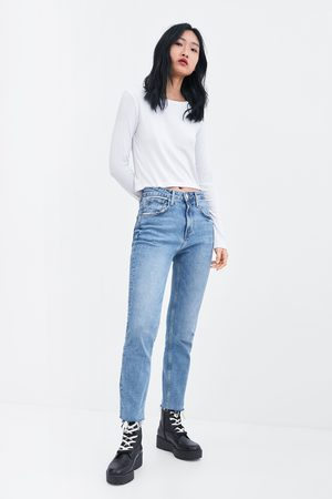 Zara Dame Enkel langermet t-skjorte