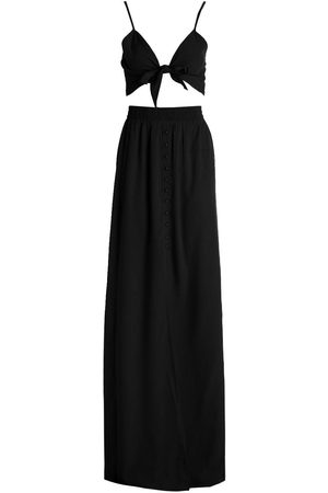 Boohoo Tall Tie Front Top & Maxi Skirt Co-ord