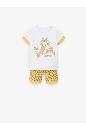 Zara Baby Pyjamaser - Pyjamas med leopard