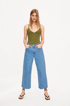 Zara Dame Topper - Topp med stropper