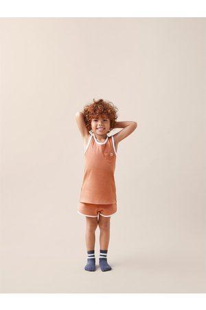 Zara Pyjamas med ribbekant og etikett