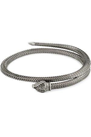 Gucci Smykker - Garden silver snake bracelet