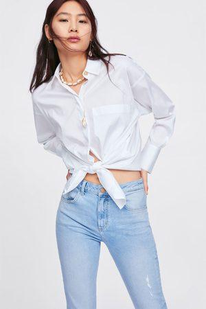 Zara Dame Jeans - Denimbukse z1975 slim-fit