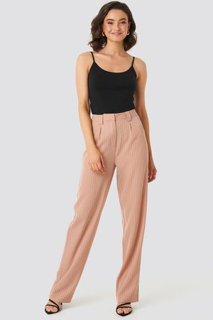 NA-KD Flared Striped Pants