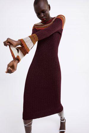 Zara Lang kjole med glitter