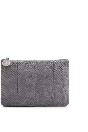 Studio EBN Inger salmon leather midi shoulder bag pouch