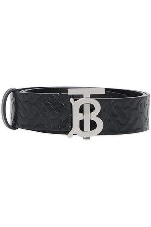 Burberry Embossed monogram belt