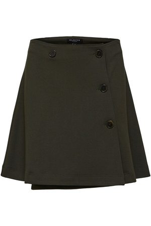 Selected Mini skirt Wrap