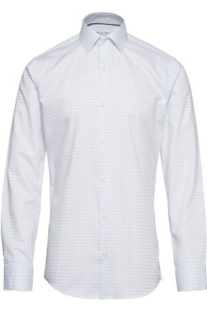 Seven Seas skjorte lys blå Dobby | Royal Oxford | LS modern fit