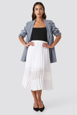 NA-KD Dame Foldeskjørt - Co-ord Pleated Panel Midi Skirt