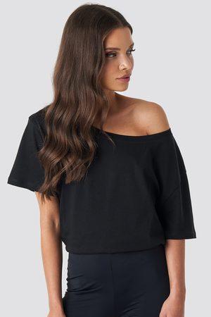 NA-KD Dame Kortermede - One Shoulder T-shirt