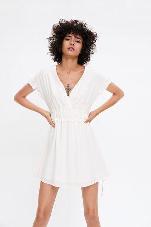 Zara Dame Kjoler - Kjole med sløyfer