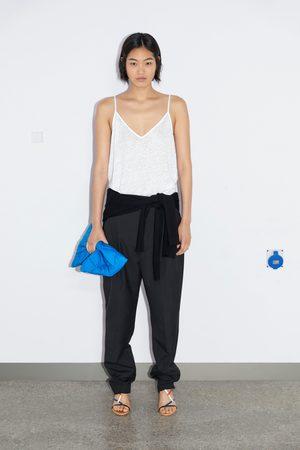 Zara Dame Singleter - Singlet i lin