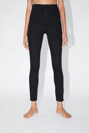 Zara Dame Jeggings - Super stretch jeggings med høyt liv