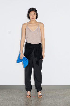 Zara Singlet i lin