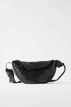 Zara Dame Skuldervesker - Skulderveske/rumpetaske i skinn