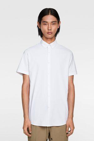 Zara Traveler skjorte med korte ermer