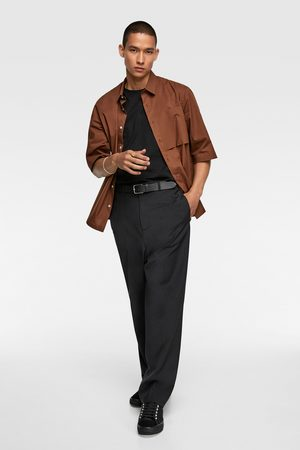 Zara Kortermet skjorte