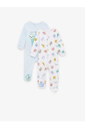 Zara 2-pakning pyjamaser med dovendyr