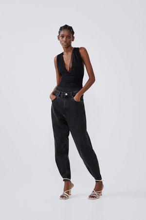Zara Dame Body - Kombinert body i tynt bomullsstoff