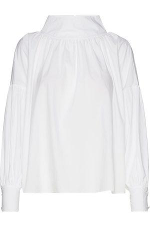 Rodebjer Oransje Rodebjer Ninja Linen T Shirt Dame Topper