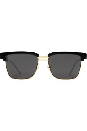 Gucci Square metal and acetate sunglasses
