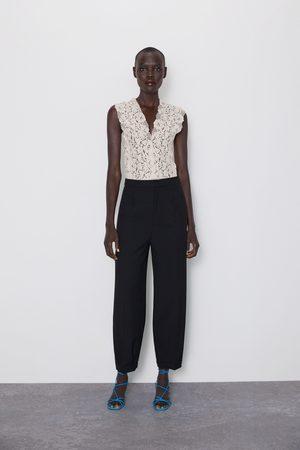 Zara Dame Body - Body med blonder