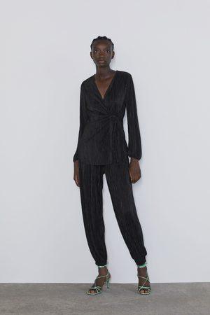 Zara Plissert bukse
