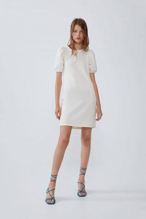 Zara Dame Kjoler - Kjole med tekstur og volum