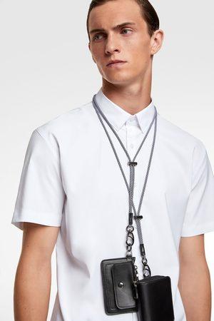 Zara Herre Kortermede - Traveler skjorte med korte ermer