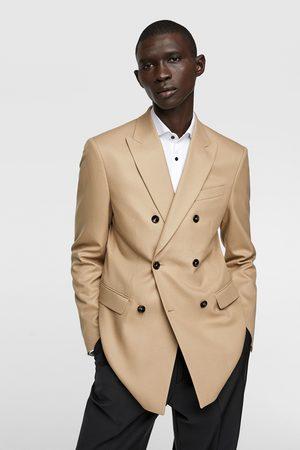 Zara Blazere - Dobbeltspent blazer med tekstur
