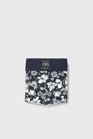 Zara Boksershorts med blomstermønster
