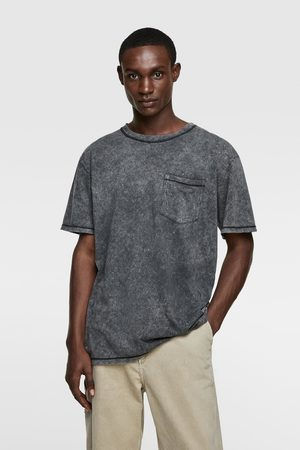 Zara Skjorter - T-skjorte med lomme