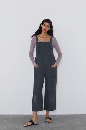 Zara Dame Jumpsuits - Lang jumpsuit med lommer